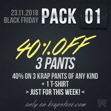 Pack 1 - 3 Pants + T-shirt -20%
