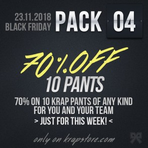 Pack 4 - 10 Pants -50%