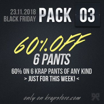 Pack 3 - 6 Pants -40%