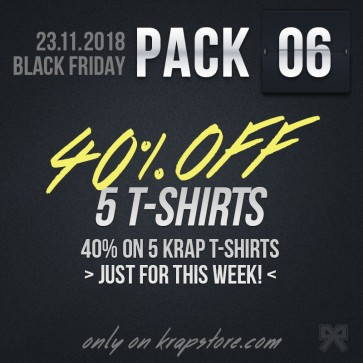 Pack 6 - 5 T-Shirts -30%
