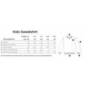 KRAP Kids Alpha Crewneck